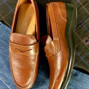 Cole Haan Brown Leather Driving Loafers, Size 12 M